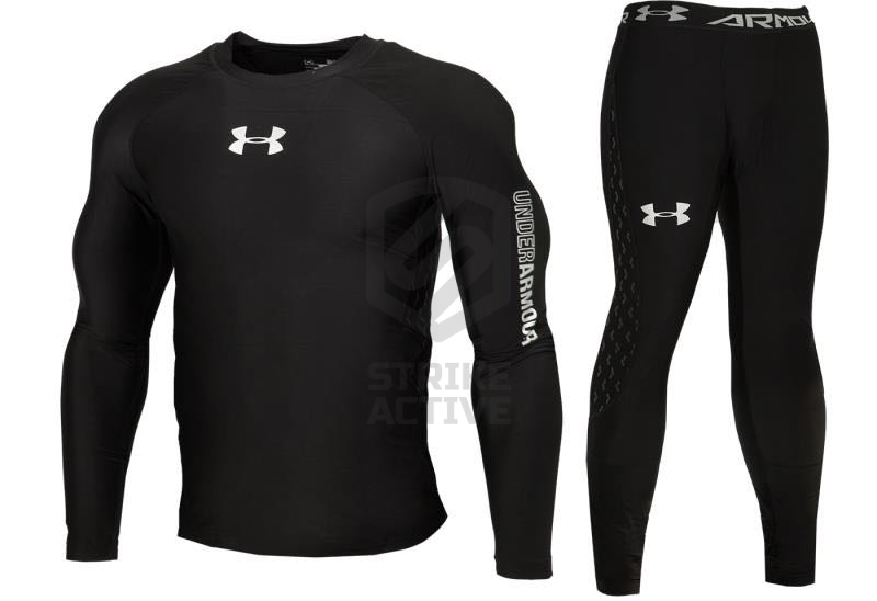 Термобельё Under Armour Titanium XXL Black
