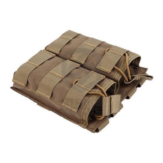 Подсумок Tactical MOLLE Double Open Top Mag Pouch M4/M16 Tan