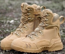 БОТИНКИ AS-BT0007T Tactical Side Zip TAN size 42