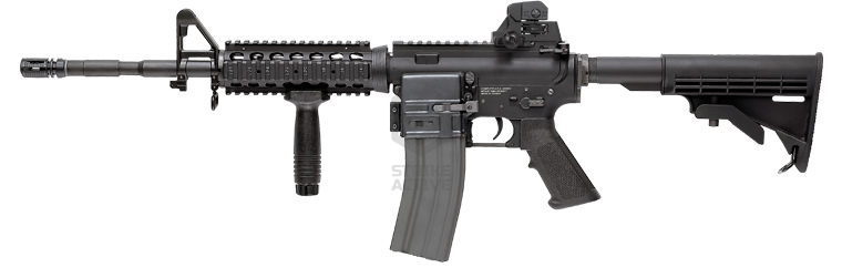 Автомат TR16 R4 Carbine TGR-016-R4C-BBB-NCM (135-145 m/s) no BlowBack Upgrade (G&G)