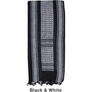 Арафатка Tactical Shemagh Black/White (Dagger)