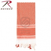 Арафатка LIGHTWEIGHT SHEMAGH Red/White (Rothco)