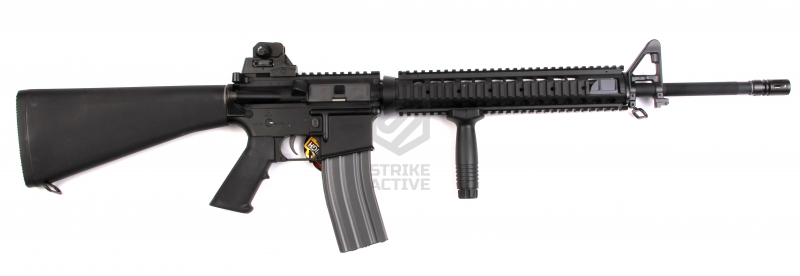 Автомат M16A4 (TR16 R5) TGR-016-MR5-BBB-NCM Blow Back 120-130m/s BLACK (G&G)