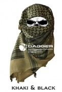 Арафатка Tactical Shemagh Khaki/Black (Dagger)