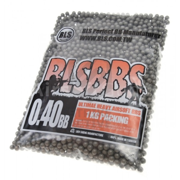 Шары для страйкбола Ultimate Heavy 0,40g/1kg Grey (BLS)
