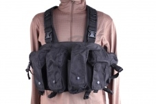 РАЗГРУЗКА ДЛЯ АК CHEST RIG CARRY VEST 600D BLACK