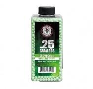 Шары для страйкбола Perfect Tracer 0.25g/2700 шт (бутылка) Green (G&G)