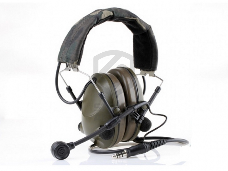 Гарнитура Z042-FG Sound-Trap Headset (Military Version) (Z-Tactical)