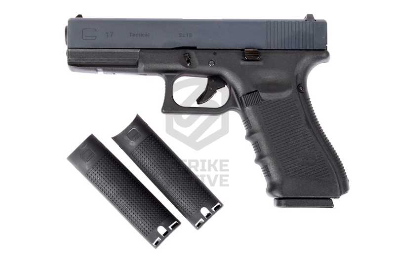 Пистолет пневм GLOCK  G17 gen4  Black (WE)