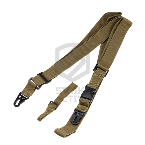 Ремень 3 point QD tactical CQB Rifle Gun Sling Tan