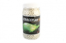Шары для страйкбола Perfect Tracer 0.20g/2400 шт (банка) Green G&G