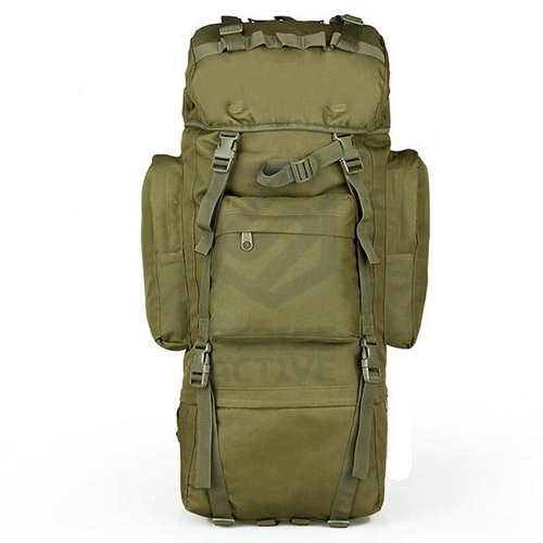 Рюкзак 65L Molle Rucksack Military Hiking Camping OD