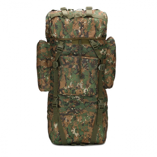 Рюкзак 65L Molle Military Hiking Camping 70х30х20cm Digital Woodland