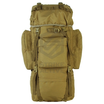 Рюкзак 65L Molle Rucksack Military Hiking Camping Tan