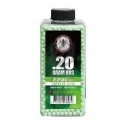 Шары для страйкбола Perfect Tracer 0.20g/2700 шт (бутылка) Green ( G&G)