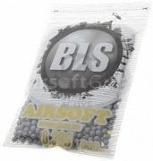 Шары для страйкбола Precision Grade 0,38g/1000шт Grey (BLS)