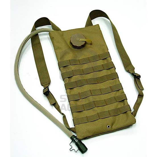 Гидратор 2.5L  Molle Water Backpack Tan