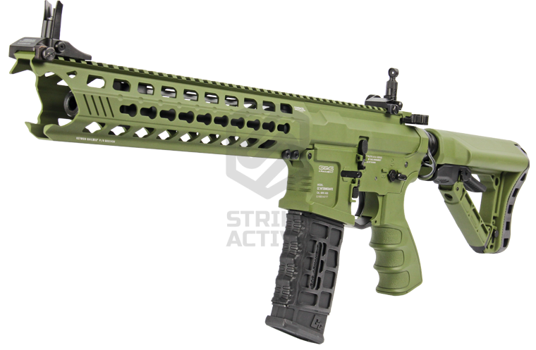 Автомат GC16 Predator Hunter Green EGC-PTR-HTG-GNB-NCM (125-135m/s) (G&G)